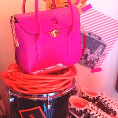 Kate Spade pop of pink.