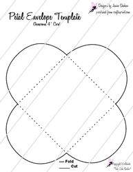 How To Make A C Envelope  Envelopes Template And Cards