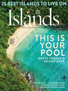 """#MagLoveTop10 29 January 2016: """"Best Travel Magazine Covers of 2015."""" #1. Islands."""