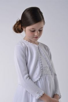 Us Angels White Sweater- White Only - Style 515