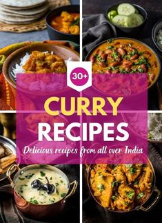 Learn all you need to know about Indian curries and get some easy and authentic recipes that'll get you cooking in no time. You'll love the variety of traditional Indian curry recipes featured in this post. It includes traditional recipes from all over In Vegetarian Curry, Vegetarian Recipes, Easy Cooking, Cooking Recipes, Cooking Tips, Cooking Icon, Cooking Chef, Cooking Videos, Authentic Indian Curry Recipe
