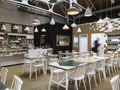 Rápido/Casual: Cornerstone Café (Londres) / Paul Crofts Studio