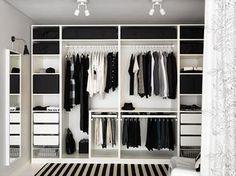 Dressing IKEA wardrobe Forum mode homme de Comme un camion Pax Wardrobe Planner, Ikea Pax Wardrobe, Ikea Closet, Wardrobe Design Bedroom, Bedroom Wardrobe, Closet Small, Wardrobe Storage, Closet Storage, Storage Room