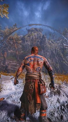 Kratos God Of War, Thor, Cool Tattoos, Cool Stuff, Wallpaper, Painting, Art, Dios, Predator
