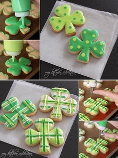 12 Decadent St. Patrick's Day Cookie Recipes: Polka Dot and Plaid Shamrock Cookies