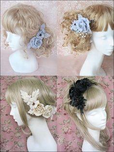 Pink is a Pretty Color Lolita Makeup, Lolita Hair, Gothic Hairstyles, Pastel Goth, Lolita Fashion, Japanese Fashion, Headdress, Hair Pieces, Hair And Nails