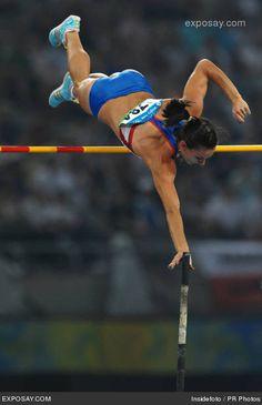 Yelena Isinbayeva - Beijing 2008 Olympic Gold