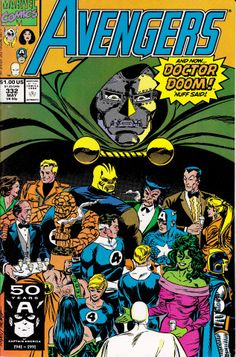 the Avengers #332 (May 1991) by Paul Ryan & Tom Palmer #DoctorDoom