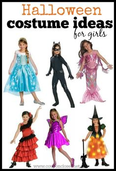 FUN Halloween Costume Ideas for Girls on a budget!