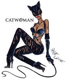 Halle Berry as Catwoman by Hayden Williams Hayden Williams, Catwoman 2004, Black Catwoman, Catwoman Comic, Marvel Dc, Catwoman Halle Berry, Catwoman Drawing, Hally Berry, Fashion Drawings