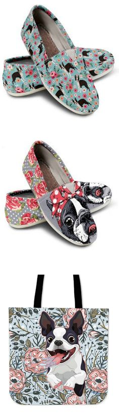 Do you love Boston Terriers? Check out our amazing Boston Terrier Shoes, Bags, Socks and more! Boston Terriers, Boston Terrier Love, Terrier Puppies, French Bulldogs, Pugs, Cute Shoes, Me Too Shoes, Shoes Heels, Shoe Boots