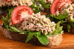 Looking for a healthier alternative to tuna mayo sandwich? Give this filling a try - its full of flavour - you wont feel like you are missing out.
