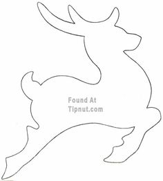 flying reindeer pattern use the printable outline for crafts