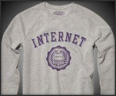 The Internet Sweatshirt #luvocracy #design
