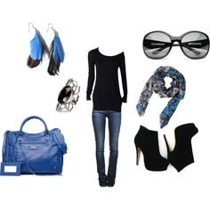 Casual - luv this look & the booties r amazing!!