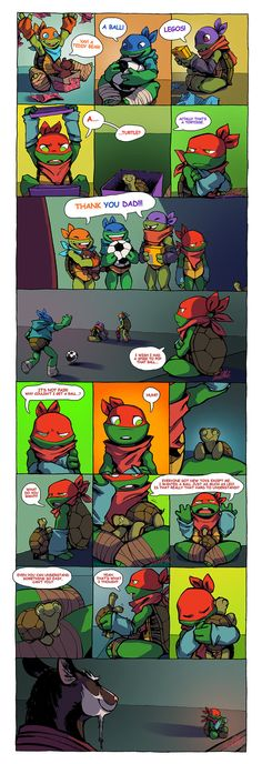 i can't believe i did a comic ahaha ididn't sleep all night so i could finish this -_- always wanted to draw turtle tots ahh it was worth it <3 i know there's already a lot of art on how r...