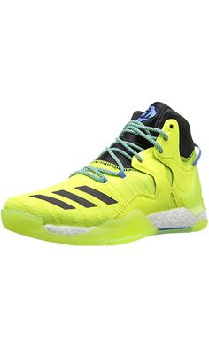 Adidas Performance Men's D Rose 7 Primeknit Basketball Shoe, Solar Yellow/Black Ray Blue Fabric, 9.5 M US Best Price
