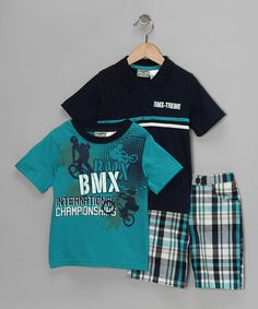 Little Rebels 'BMX' Tee Set on #zulily!