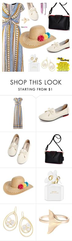 """""""Newchic16: Instantly beautiful"""" by bugatti-veyron ❤ liked on Polyvore featuring Capelli New York, Marc Jacobs and Ippolita"""