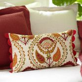 Camille Embroidered Pillow Cover #birchlane