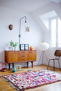 vintage side table.  Scandinavian style.