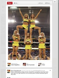 College cheer