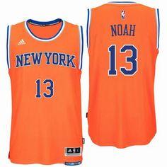New York Knicks  13 Joakim Noah 2016 Alternate Orange New Swingman Jersey  Nba New York a47f113c5