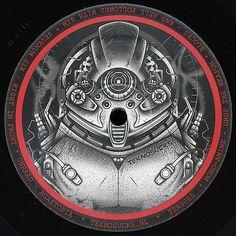 Disque vinyle TSR0085, label Tekno Sucks Macarons, Addiction, Vinyl Record Case, Pouch Bag, Macaroons
