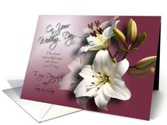 To my Daughter and Son-in-law Congratulations on your marriage card