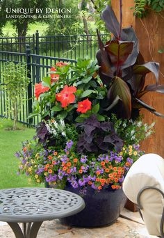 Unique by Design l Helen Weis : Container Gardening