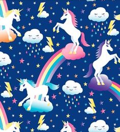 1000 images about rainbow inspiration on pinterest for Moon and stars fleece fabric