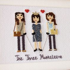Close up of two daughters and their mom (their Queen) aka The Three Musketeers.Another cute Mother's Day gift from daughters is already on its way.See previous post. #familylife #familyportrait #giftideas #etsyfinds #etsyshop #etsyseller #etsy #children #myfamily #portrait #sister #mymother #cute #familyphoto #gifts #walldecor #momlife #mumlife #etsygift #mother #etsygifts #mymother #parents #homedecor #daughters #threemusketeers #daughter #sisters #mothersday #mothersdaygift