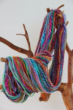 Hey, I found this really awesome Etsy listing at https://www.etsy.com/listing/241959911/handspun-art-yarn-effusion