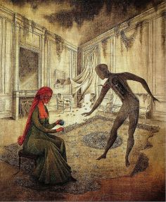 [ V ] Remedios Varo - Les Feuilles Mortes (1956) | Flickr - Photo Sharing!