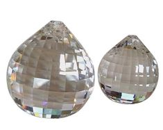 Set of Asfour Crystal Prism Ball Sun Catchers