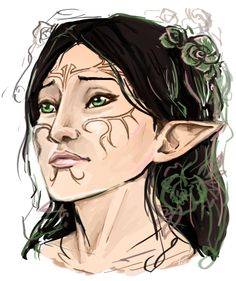 Merrill would look stunning with long hair.
