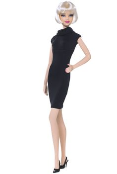 2009 Barbie Basics Black Dress Collection 001 Model 009 NRFB