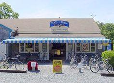 Rail Trail Bike Shop - in Brewster & can rent bikes & trailers here