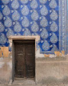 Uzbekistan tiles by vincent leroux