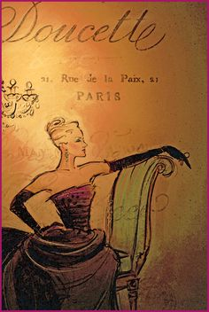 Jacques Doucet Collection, Haute Couture, 21 Rue de la Paix, Paris II