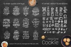 Coffee Chalk Letterings - Illustrations - 2