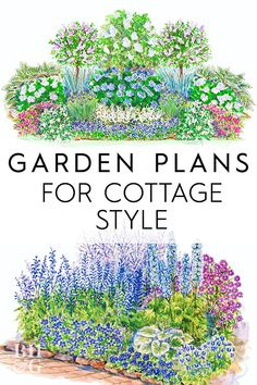 Latest Pics bhg Garden Plans Thoughts What should I plant? Simply how much shoul… - Abacus. Cottage Garden Plan, Cottage Garden Design, Vegetable Garden Design, Small Garden Design, Flower Garden Layouts, Flower Garden Plans, Garden Yard Ideas, Lawn And Garden, Garden Design Ideas On A Budget
