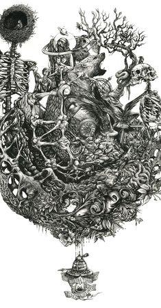 DZO Olivier - Gaïa Calling - Biofusion 2   #illustration