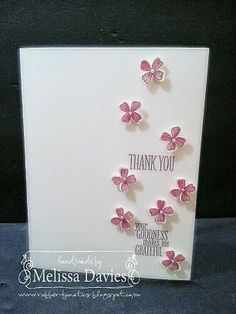 Stampin' Up! NEW! Something to Say by Melissa Davies @ rubberfunatics