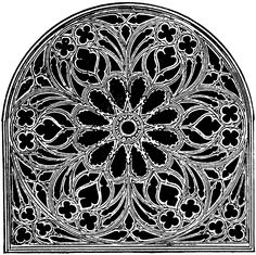 Gothic Church Windows - Clipart Suggest Gothic Cathedral, Cathedral Windows, Church Windows, Architecture Tattoo, Sacred Architecture, Gothic Windows, Rose Window, Gothic Tattoo, Stained Glass Designs