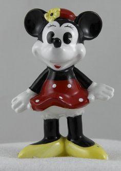 Disney Taiwan Porcelain Minnie Mouse Figurine