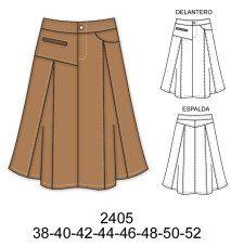 Faldas Clothing Patterns, Dress Patterns, Spring Skirts, Fashion Design Drawings, Fashion Sewing, Fashion Outfits, Womens Fashion, Mini Skirts, Cute Outfits