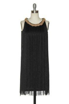 Dapper as a Flapper Dress in Black