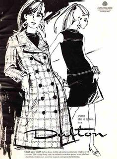 Couture Allure Vintage Fashion: Dress and Coat Sets of the 1960s