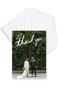 12 BEST Rustic Wedding Photo Thank You Cards - Wedding Thank You Card with Photos / Wedding Thank You Postcard / For the Love of Stationery - Wedding Gifts For Bridesmaids, Wedding Favours, Wedding Cards, Wedding Invitations, Wedding Card With Photo, Rustic Wedding Photos, Thank You Photos, Photo Thank You Cards, Photo Cards